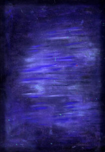 purple color oil pastel expression